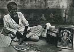 Inde Astrologue Ancienne Photo Defossez 1970's - Ethniques, Cultures