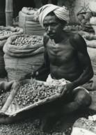 Inde Marchand De Betel Ancienne Photo Defossez 1970's - Ethniques, Cultures
