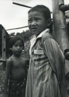 Thailande Chiang Rai Enfants Portrait Ancienne Photo Defossez 1970's - Ethniques, Cultures