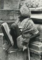 Inde Vieil Homme Portrait Ancienne Photo Defossez 1970's - Ethniques, Cultures