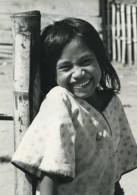 Indonesie Sumatra Porsea Jeune Fille Souriante Portrait Ancienne Photo Defossez 1970's - Ethniques, Cultures