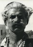 Inde Portrait Masculin étude Ancienne Photo Defossez 1970's - Ethniques, Cultures