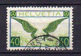 SUISSE     Oblitéré     Y. Et T.   PA N° 14a  ( Papier Ordinaire )   Cote: 100,00 Euros - Posta Aerea