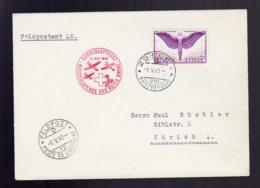 SUISSE     Lettre De Mai 1940    Poste De Campagne ,  Vol De La Croix Rouge. - Posta Aerea