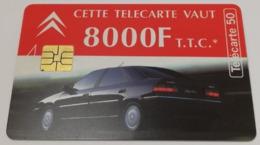 Télécarte - CITROEN - Félix Faure - Cars
