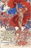 (C).Genova.1915 Inaugurazione Monumento Ai Mille.Illustratore Nomellini (164-a14) - Genova (Genua)