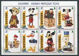 271 - GUYANE 1996 - Yvert 4093/100 - Jouet Ancien Walt Disney - Neuf ** (MNH) Sans Trace De Charniere - Guyana (1966-...)