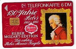 TK 26113 GERMANY - Chip K011 02.95 6 500ex. MINT ! Mozart & Mozartkugeln - Música