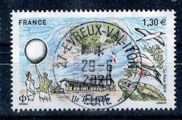 2019 ILE TROMELIN OBLITERE CACHET ROND #230# - Frankreich
