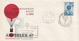 Cover International Rally 1967, Transported By Postballoon - Airships