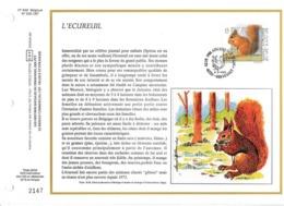Feuillet Tirage Limité CEF 649 2478 écureuil Grivegnée - Panes