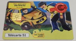 Télécarte - FORD - Ka - Cars