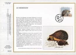 Feuillet Tirage Limité CEF 650 2479 Hérisson - Panes