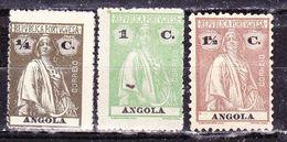 Portogallo- Angola  -1913-Cerere-Nuovi - Angola