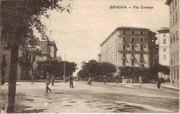 (C).Genova.Via Corsica.F.to Piccolo (c17) - Genova (Genua)