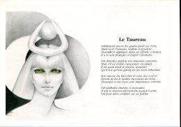 Astrologie : Le Taureau - Dessin De Liliane Proux - Astrology
