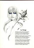Astrologie : La Vierge - Dessin De Liliane Proux - Astrology
