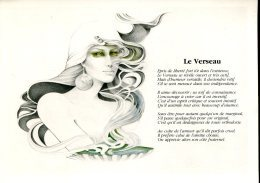 Astrologie : Le Verseau - Dessin De Liliane Proux - Astrology