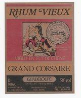 BISTROT - ETIQUETTE  DE RHUM VIEUX - GRAND CORSAIRE - CONCOURS 1978 - MEDAILLE BRONZE -REIMONENQ - Ste-ROSE - GUADELOUPE - Altre Collezioni