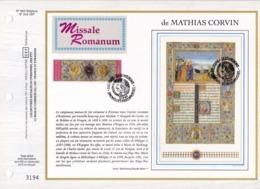 Feuillet Tirage Limité CEF 663 2492 Bloc 68 2494 Missale Romanum De Mathias Corvin - Hojas