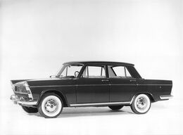 "010911 ""FIAT 1500 L - O TAXI - FOTO IN B/N SU CARTA LUCIDA - 1963"" FOTO ORIG - Automobiles"