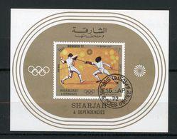 SHARJAH : JO MUNICH 72 - Yvert BLOC N° ? Obl. - Sharjah