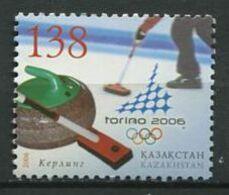 271 - KAZAKHSTAN 2006 - Yvert 451 - Curling JO Turin Italie - Neuf ** (MNH) Sans Trace De Charniere - Kazajstán