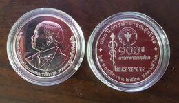 Thailand Coin 20 Baht 2020 100th Anniversary Of Thai Public Health + Clear Holder - Thailand