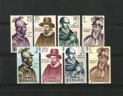1964 España Edifil 1622/29** MNH- Forjadores De América- Conquistadores America - 1931-Aujourd'hui: II. République - ....Juan Carlos I