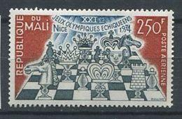 271 - MALI 1974 - Yvert A 213 - Echecs - Neuf ** (MNH) Sans Trace De Charniere - Mali (1959-...)