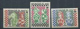 271 - MALI 1977 - Yvert 288/90 - Echecs - Neuf ** (MNH) Sans Trace De Charniere - Mali (1959-...)