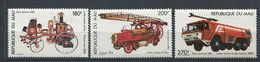 271 - MALI 1982 - Yvert 449/51 - Vehicule Pompier - Neuf ** (MNH) Sans Trace De Charniere - Mali (1959-...)