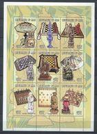 271 - MALI 1998 - Yvert 1372/80 En Feuille - Echecs - Neuf ** (MNH) Sans Trace De Charniere - Mali (1959-...)