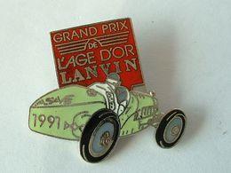 PIN'S GRAND PRIX DE L'AGE D'OR LANVIN 1991 - EMAIL - Pin