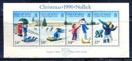 Man 1990 / Christmas MNH Navidad Nöel Weihnachten / Gs08  5-3 - Christmas