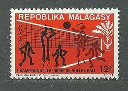 Madagascar, 1972 (#709a), African Volleyball Championships, Volleyball, Pallavolo, Vóleibol - 1v - Pallavolo