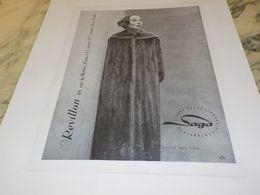 ANCIENNE PUBLICITE FOURRURE REVILLON 1955 - Other