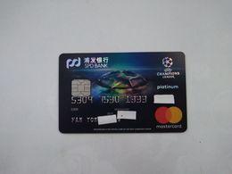 China , UEFA Champion League, (1pcs) - Cartes De Crédit (expiration Min. 10 Ans)
