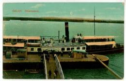 RO 10 - 6916 GALATI, Romania, Debarcaderul - Old Postcard - Used - 1914 - Romania