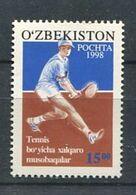 271 - OUZBEKISTAN 1998 - Yvert 105 - Joueur Tennis - Neuf **(MNH) Sans Trace De Charniere - Uzbekistán