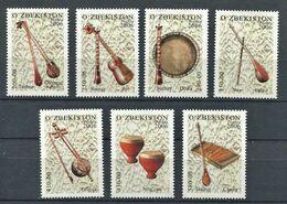 271 - OUZBEKISTAN 2006 - Yvert 534/40 - Instrument Musique - Neuf **(MNH) Sans Trace De Charniere - Uzbekistán