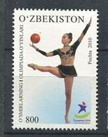271 - OUZBEKISTAN 2010 - Yvert 763 - JO Singapour Gym Ballon - Neuf **(MNH) Sans Trace De Charniere - Ouzbékistan