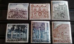 1970 España Edifil 1982/87** MNH- Serie Turistica - Serie Completa - 1931-Aujourd'hui: II. République - ....Juan Carlos I