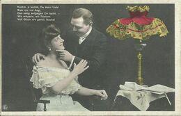AK Liebespaar - Mann Und Frau - In Tollem Ambiente - Color 1910 #62 - Couples