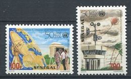 271 - SENEGAL 2000 - Yvert 1621/22 - Station Meteorologique - Neuf ** (MNH) Sans Charniere - Senegal (1960-...)