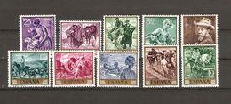 1964 España Edifil 1566/75** MNH- Joaquín Sorolla- Serie Completa - 1931-Aujourd'hui: II. République - ....Juan Carlos I