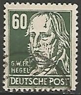 ALLEMAGNE / REPUBLIQUE DEMOCRATIQUE  N° 45 OBLITERE - DDR