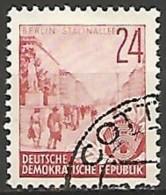 ALLEMAGNE / REPUBLIQUE DEMOCRATIQUE  N° 126 OBLITERE - DDR