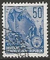 ALLEMAGNE / REPUBLIQUE DEMOCRATIQUE  N° 193 OBLITERE - DDR