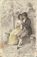 AK Liebespaar In Zärtlicher Umarmung - Prägung 1903 München #65 - Couples
